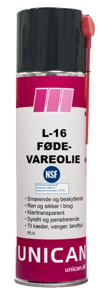 Spray Fødevareolie 500ml Unican