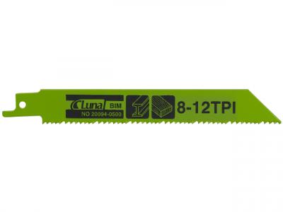 Bajonetsavklinge Til Træ & Metal 150mm 8/12TPI 5stk