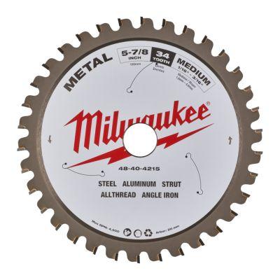 Rundsavklinge til metalskæring 150mm M150x20x34T Milwaukee