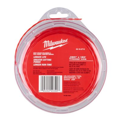 Trimmertråd 2mm x 45m Milwaukee
