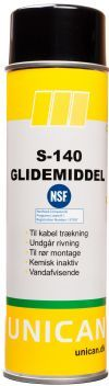 Glidemiddel S-140 spray NSF H1 500ml UNICAN