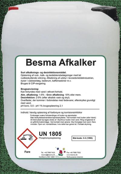 Afkalker Besma