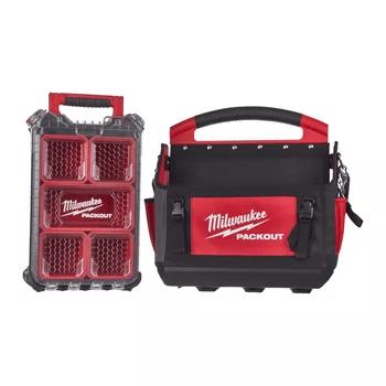 Packout Værktøjstaske + Opbevaringskasse Milwaukee