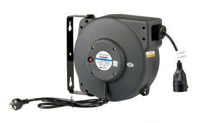 Aut. kabelopruller IP42 3x1,5mm2 x 15m FlowConcept