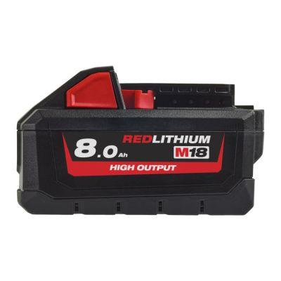 Batteri High Output 18v 8,0Ah M18 HB8 Milwaukee